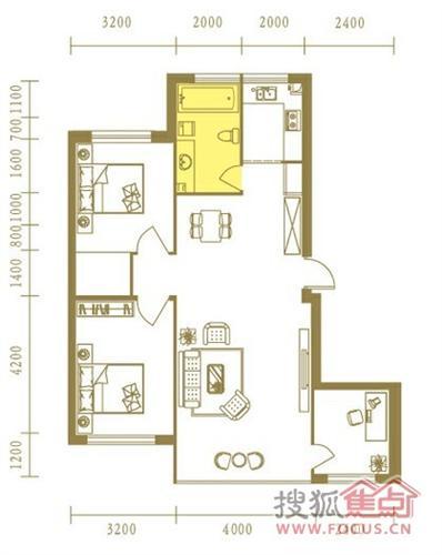 房子设计图四层展示